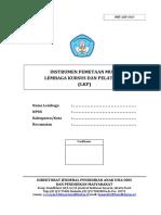 instrumen pemetaan mutu LKP tahun 2017.pdf