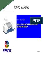 stylus C41 C42 C43 C44 C45 C46 C48 ME1 ME1+ service manual