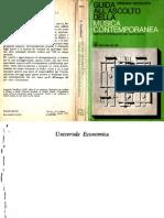 Armando Gentilucci - Guida All'Ascolto Della Musica Contemporanea