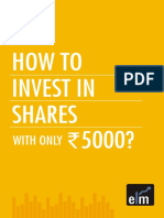 How to Invest in Shares With Only Rs.5000