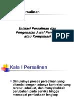 Penyulit&Komplikasi Dgn Partograf.
