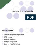 Mantis Guide