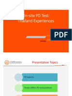 PD Test Experience