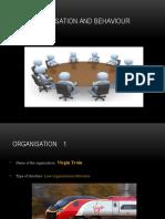 Organisation and Behaviour