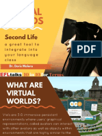 Virtual Worlds Second Life for Language Learning