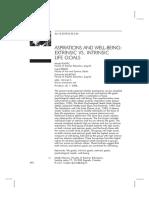 Rijavec et al. , 2011- Aspirations and WB .pdf