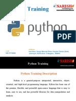 Python Training-Best Python Training Institute in Hyderabad