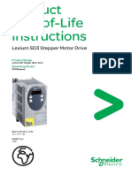 Product End-Of-Life Instructions - Lexium SD3 Stepper Motor Drive