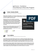 Cloud Backup Proposal