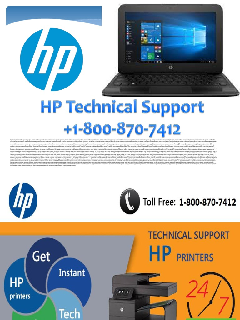 1 800 870 7412 Error HP Printer Technical Support Phone