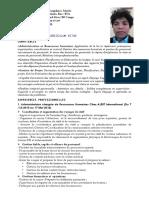 Curriculum Vitae m