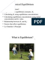 Chapter 13 - Chemical Equilibrium