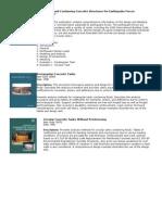 PCA Publications