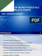 Aula 3.3. Retificador N.C. Monofásico de Onda Completa Em Ponte