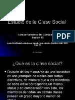Sesi+_n n-_ 12 Estudio de la Clase Social