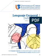 Lenguaje Corporal - [ La Guía Definitiva ]