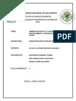 Administracion de La Cadena de Abastecimiento, Su Organizacion, La Cadena de Valor