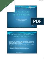 1 Análisis de Datos Microbiológicos