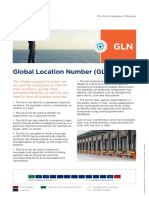 GS1 GLN Executive Summary