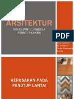 Arsitektur-Penutup Lantai dan Kusen.pptx