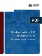 Hidden Costs of Erp Implementation