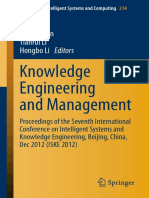 Springer - Knowledge Engineering and Management