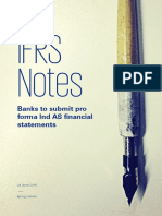 IFRS Notes - Banks to Submit Pro Forma Ind as Financial Statements