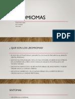 leiomiomas
