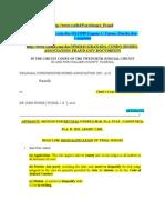 Motion for Recusal of Def. Eugene C. Turner