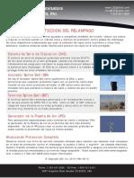 Lightning Protection Spanish