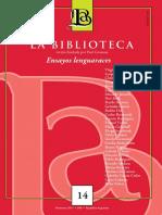 Revista La Biblioteca Nº 14.pdf