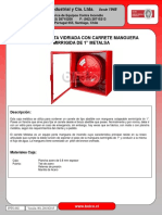 Ficha Técnica Gabinete puerta vidriada con Carrete Metalsa Semirrigido d....pdf