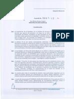 Acuerdo 067-13- Educación en Casa