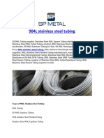 904L Stainless Steel Tubing