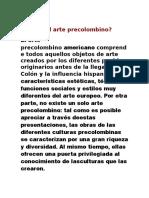 Qué Es El Arte Precolombino