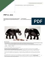 PHP vs