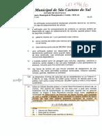 Lei Caixa Retenção Pluvial