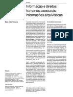 Informacao e Direitos Humanos