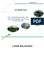 1. Primary Health Care