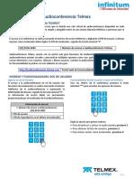 Manual Servicio Audioconferencia Telmex