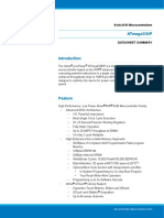 Atmel 42735 8 Bit AVR Microcontroller ATmega328 328P Summary