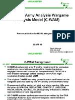 Mors Wargame Cop Brief 20 Apr 16