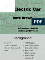 DEFCON 20 Dave Brown DIY Electric Car