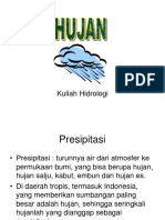 Kuliah Hidrologi 3 Hujan