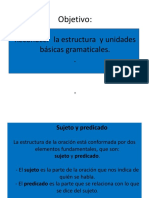 Ppt Unidades Gramaticales Clase 10