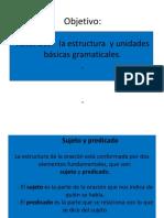 Ppt Unidades Gramaticales Clase 10