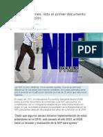 Actualizacion NIIF Para Pymes 2017