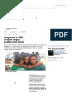 Integrantes Do MBL Ocupam Cargos Públicos Pelo Brasil