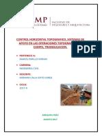 Control Horizontal Topografico, Sistemas de Apoyo en Las Operaciones Topograficas de Campo, Triangulacion.