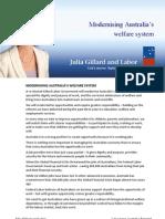 Modernisng Welfare Fact Sheet